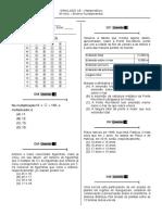 Simulado 18 (Mat. 5º Ano) - Blog Do Prof. Warles