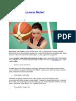 6 Manfaat Bermain Basket