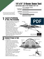 Tent Coleman 9271-191