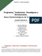 EXPO 1 CARPETA Grupo Nº6 Programa-tradicones-paradigmas y Revoluciones