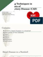 Data Mining Techniques on Heart Failure Diagnosis (Case Presentation)