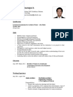 CV of Rudolph Villanueva - April 2016