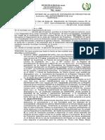 Modelo de Acta de Adjudicación Para Municipalidades