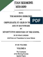 Puritan Sermons 6