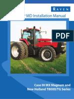 016-5030-039B - SmarTrax MD - Case IH MX Magnum and NH T80x0-TG Series - Installation Manual