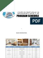 Sicest Presentation Schedule 281016(Share)