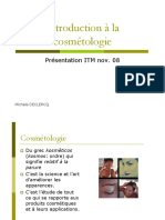 Introduction Cosmetologie ITM