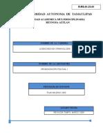 Organizacion Policial i (Programas)