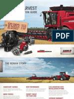 Case IH Harvest Reman Application Guide