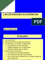 2. DECISIONES ECONOMICAS