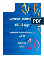 4. Overview of Commercialized R290 Technology