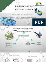 Biogeografia de Islas y Dinamica Fuente Sumidero FINAL