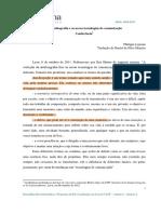 Philippe Lejeune a Autobiografia e as Novas Tecnologias de Comunicação