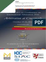 Brochure - CARTAL Conference - National Law University Jodhpur