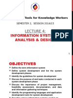 04 Information Systems Analysis Design