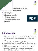 Optimizacion Lineal