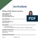 Currículo - Rebeca Kelly