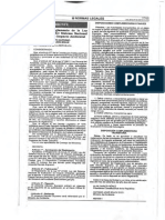 DS 019-2009-MINAM Aprueban Reglamento de La Ley 27446 - Ley Del Sistema Nacional de Evaluación de Impacto Ambiental