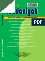 Jurnal Madaniyah Vol. 2 Edisi XI, Agustus 2016.