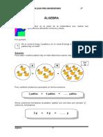 2do Grado Algebra