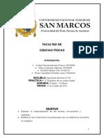 Informe 06 de Lab de Fisica