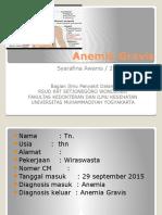Anemia Gravis Ppt