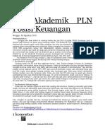 Tes Akademik PLN Posisi Keuangan