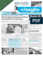 Edición Impresa El Siglo 01-11-2016