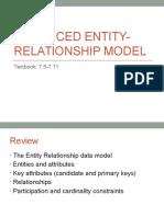 Lecture8 EER Model
