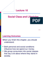 L10 Social Class and Lifestyles