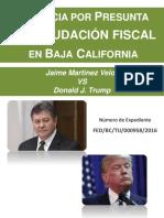 Denuncia Martinez Veloz vs Donald Trump