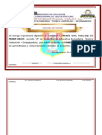 Modelo de Diplomas en word