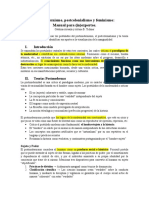"Resumen ""Postmodernismo, postcolonialismo y feminismo"