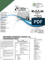 Brochure Hari Orientasi