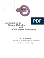 Introduction to Tensor Calculus and Continuum Mechanics (J..pdf