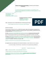 Demande de Disponibilité Pour Convenances Personnelles FPH