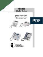 TDS Dk User Guide