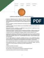 Ceremonias Preliminares a La Consagración de Ifa