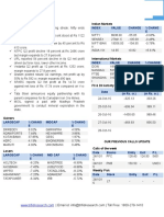 Weekly Equity Market Report