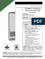 Forsaire DV Series Manual 2015