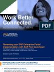 1343 Renewing Your SAP Enterprise Portal With SAP Fiori Launchpad