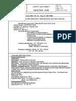 MSDS Salicylic Acid