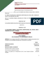 Ley de Ingreso 2013 Oaxaca