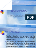 Diagnostico hormonal citológico