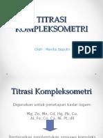 PPT Titrasi Kompleksometri