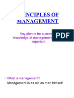 Priniciples of Management