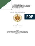 laporan manajemen keperawatan ugm