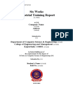 2 Industrial Training Report Format.doc