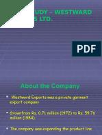 WestWard Exports Case Study Analysis