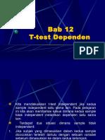 Bab 12, T-test Dependen
